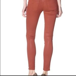 James Jeans Twiggy Skinny Legging Coated Denim 25